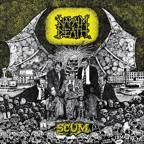 Alliance Napalm Death - Scum