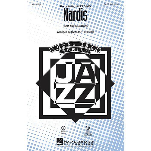 Hal Leonard Nardis SATB by Miles Davis arranged by Paris Rutherford