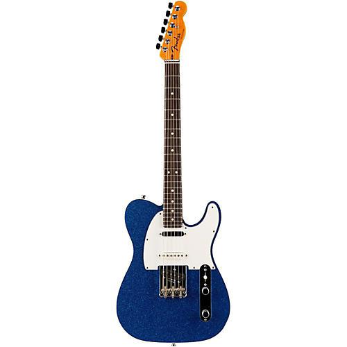 fender custom shop nashville american telecaster electric guitar blue sparkle rosewood. Black Bedroom Furniture Sets. Home Design Ideas