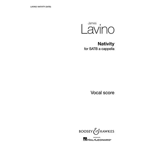 Boosey and Hawkes Nativity SATB composed by James Lavino