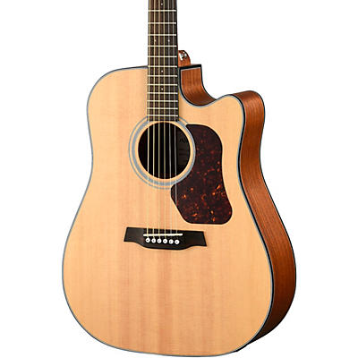 Walden Natura Solid Spruce Top Dreadnought Acoustic Cutaway-Electric