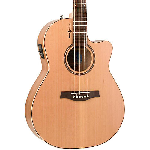 Seagull Natural Cherry CW Folk SG Acoustic-Electric Guitar