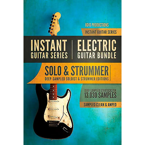 8dio productions natural electric series electric guitar solo musician 39 s friend. Black Bedroom Furniture Sets. Home Design Ideas