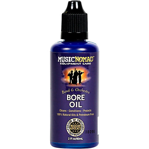 Music Nomad Natural Organic Bore Oil