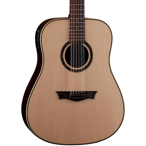 Dean Natural Series Dreadnought 12-String Acoustic-Electric Guitar with Aphex