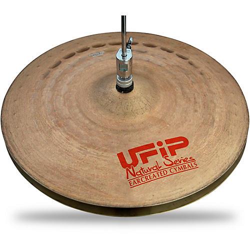 UFIP Natural Series Light Hi-Hat Cymbals 15 in.