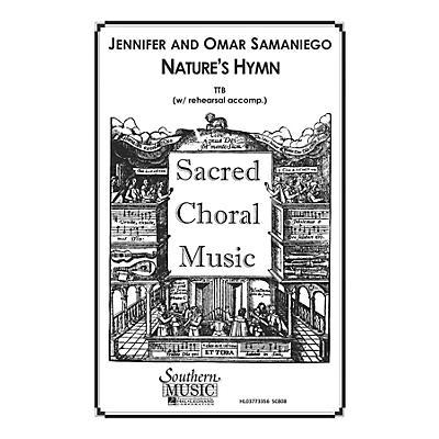 Hal Leonard Nature's Hymn (Choral Music/Octavo Sacred Ttb) TTB Composed by Samaniego, Omar