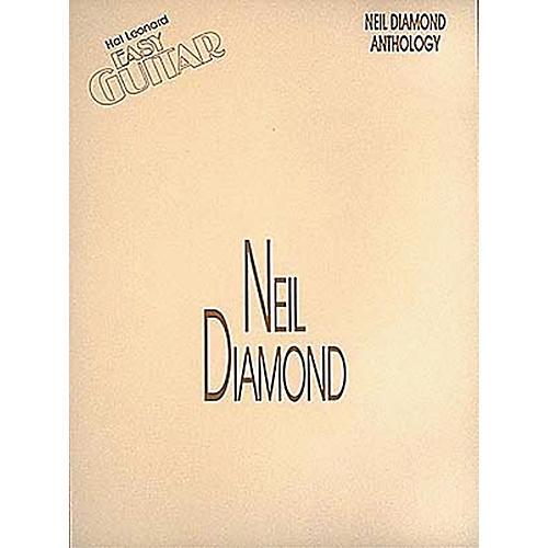 Hal Leonard Neil Diamond Anthology Easy Guitar Tab Songbook