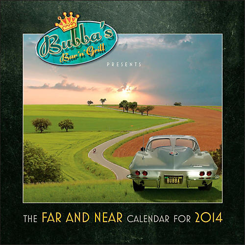 DW Neil Peart Far and Near 2014 Calendar