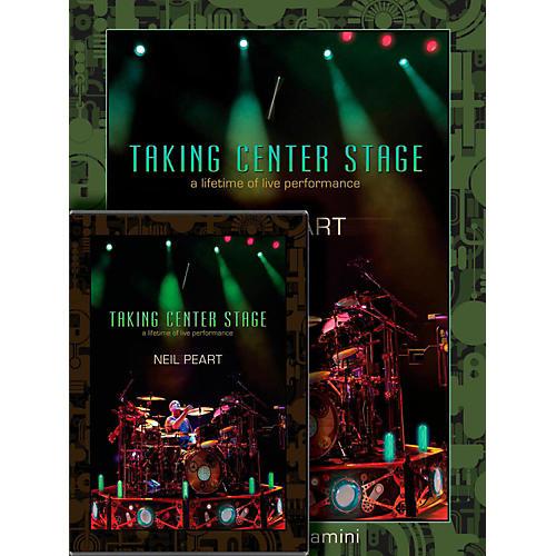 Hudson Music Neil Peart Taking Center Stage Combo Pack Book/DVD