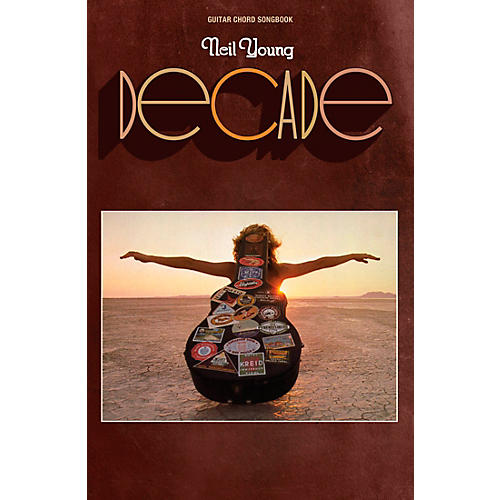 Hal Leonard Neil Young - Decade Guitar Chord Songbook