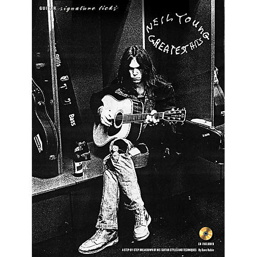 Hal Leonard Neil Young - Guitar Signature Licks Book/CD