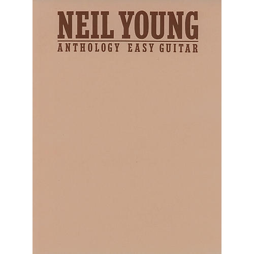 Alfred Neil Young Anthology (Easy Guitar)