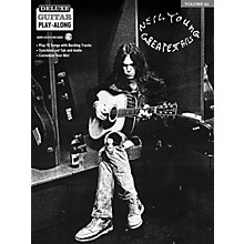 Hal Leonard Neil Young Deluxe Guitar Play-Along Volume 21 Book/Audio Online