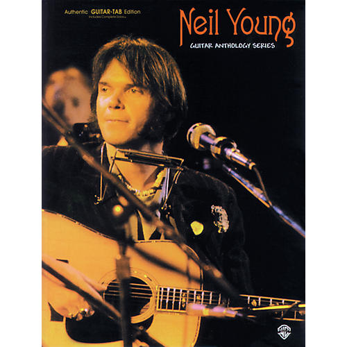 Alfred Neil Young Guitar Anthology Series Book