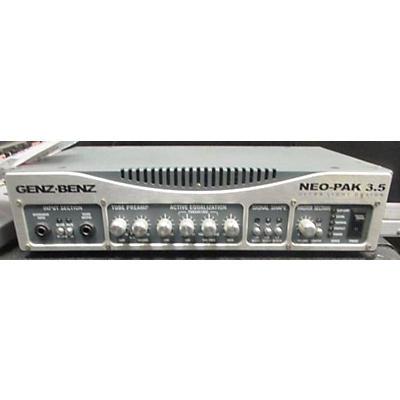 Genz Benz Neo-Pak 3.5 Bass Amp Head