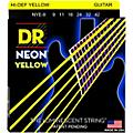 DR Strings Neon Phosphorescent Yellow Electric Guitar Strings Light thumbnail