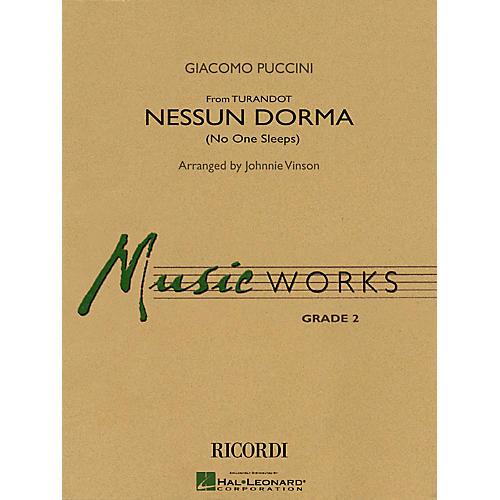 Hal Leonard Nessun Dorma (No One Sleeps) (from Turandot) Concert Band Level 2 Arranged by Johnnie Vinson