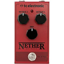 Open BoxTC Electronic Nether Octaver Effects Pedal