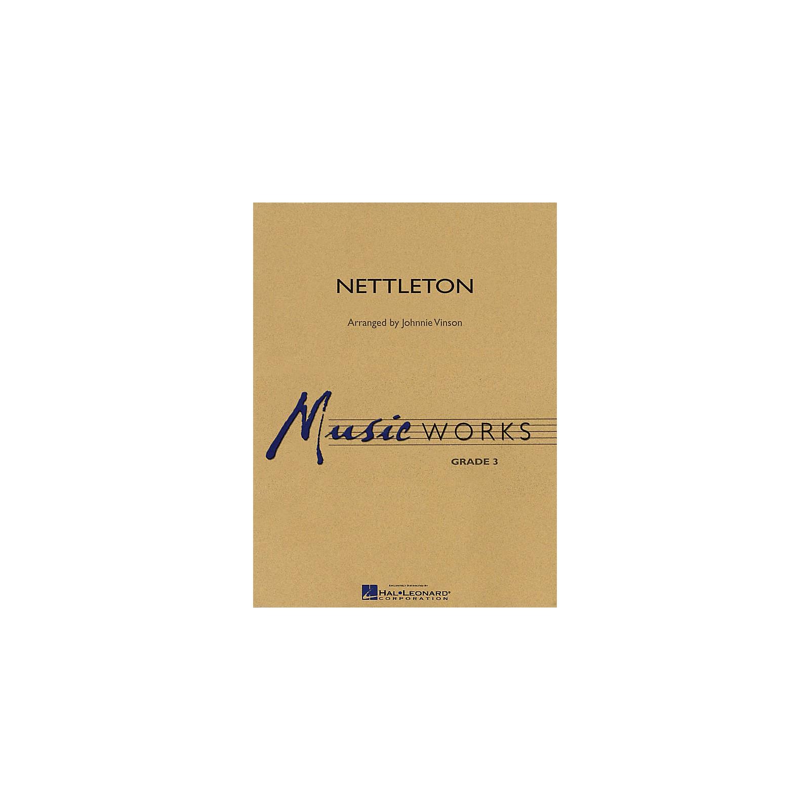 Hal Leonard Nettleton Concert Band Level 3 Composed by Johnnie Vinson