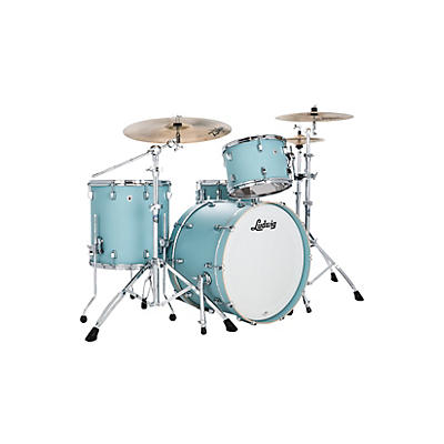 Ludwig Neusonic 3 piece FAB Shell Pack with 22 in. Bass Drum