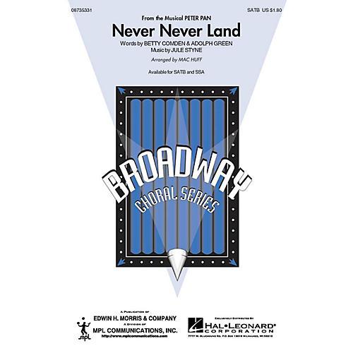 Hal Leonard Never Never Land SSA Arranged by Mac Huff