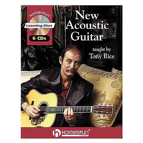 Homespun New Acoustic Guitar (Book/CD)
