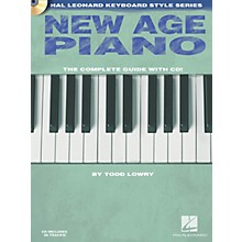 Hal Leonard New Age Piano Keyboard Instruction Series Softcover with CD Written by Todd Lowry