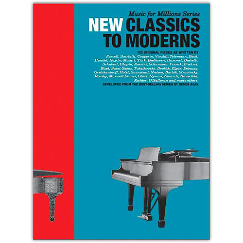 Music Sales New Classics To Moderns: 102 Original Pieces for Piano