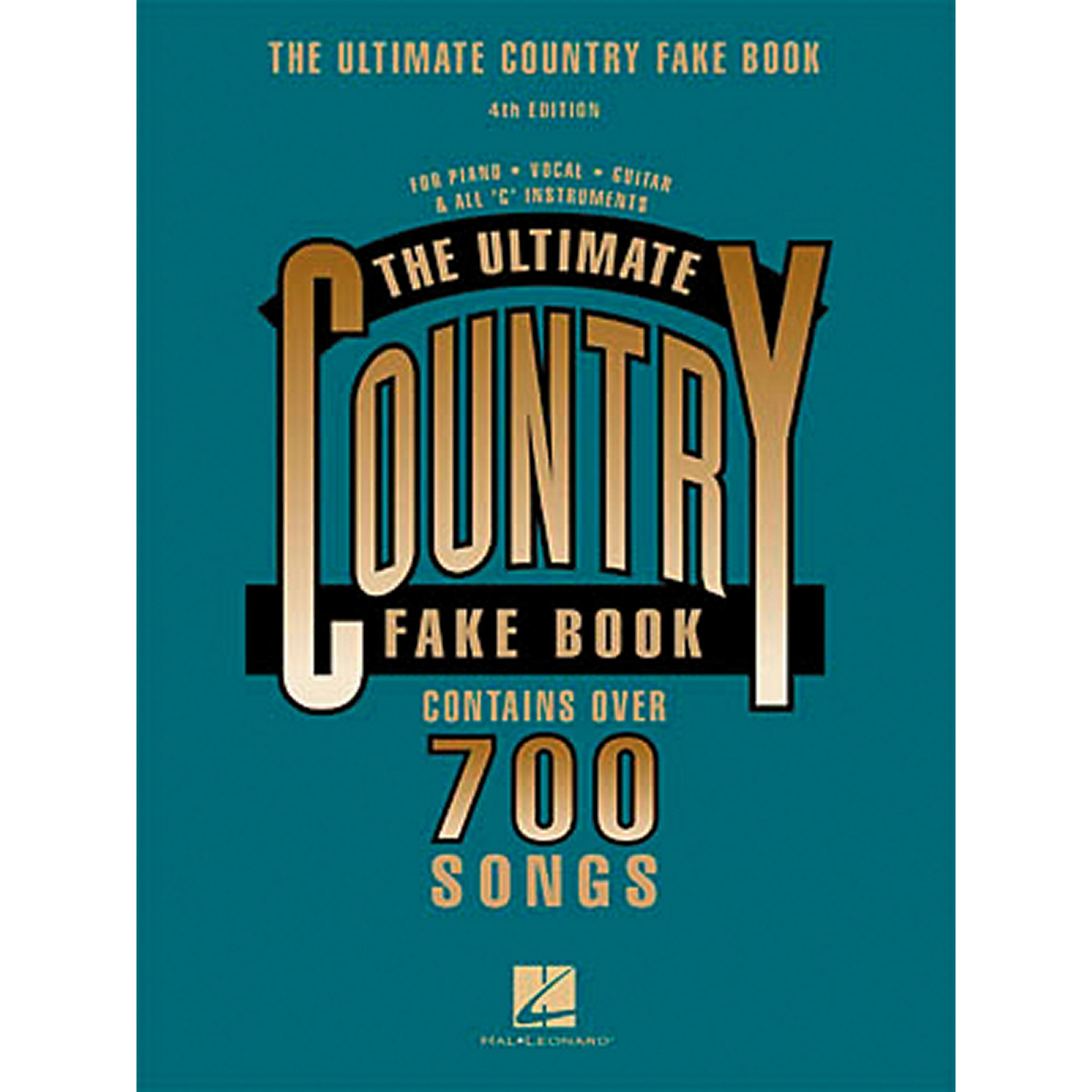 Hal Leonard New Country Fake Book
