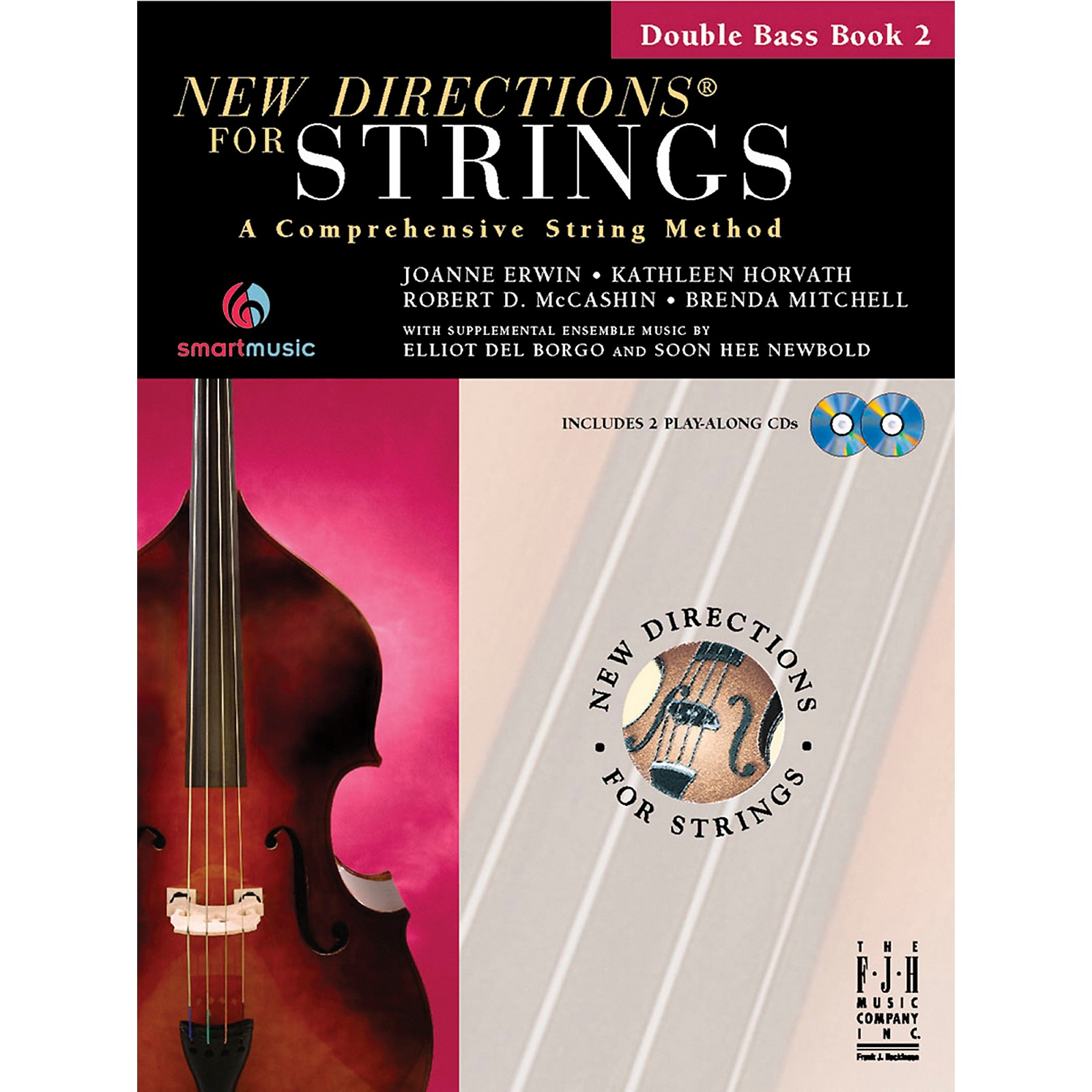 FJH Music New Directions For Strings, Double Bass Book 2