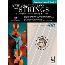 FJH Music New Directions For Strings, Teacher Manual Book 1