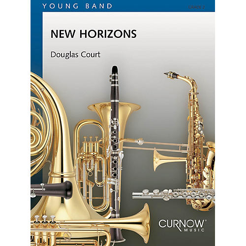 Curnow Music New Horizons (Grade 2 - Score and Parts) Concert Band Level 2 Composed by Douglas Court
