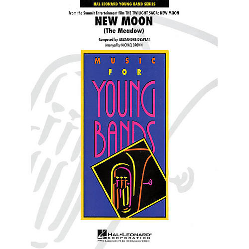 Hal Leonard New Moon (The Meadow) - Young Concert Band Level 3 by Michael Brown