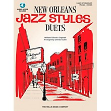 Willis Music New Orleans Jazz Styles Piano Duets (Early Intermediate, 1 Piano, 4 Hands) Book/CD