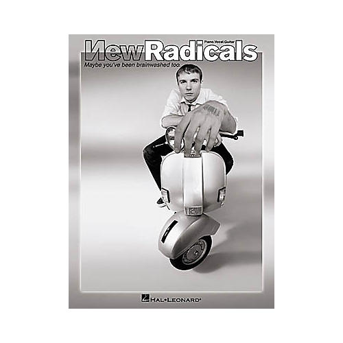 Hal Leonard New Radicals - Maybe You've Been Brainwashed Too Piano/Vocal/Guitar Artist Songbook