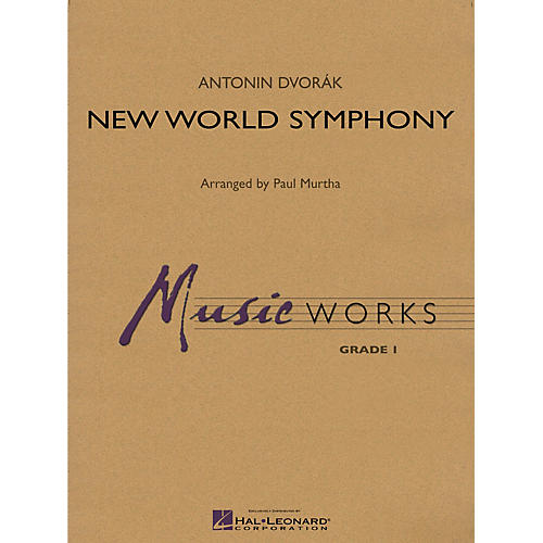 Hal Leonard New World Symphony Concert Band Level 1.5 Arranged by Paul Murtha