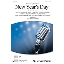 Shawnee Press New Year's Day TTB by Pentatonix arranged by Jacob Narverud