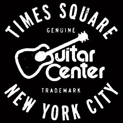 Guitar Center New York City and Times Square GO - White/Black Magnet