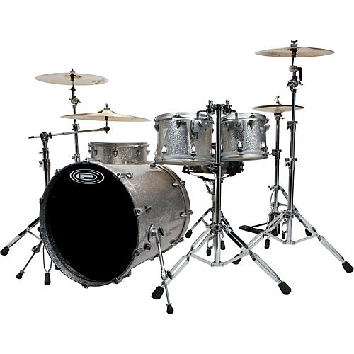 Orange County Drum & Percussion Newport 4-piece Shell Pack with Free Ludwig Black Beauty Snare