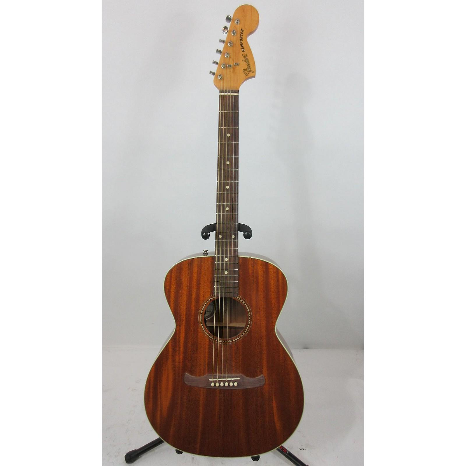 Fender Newporter Acoustic Electric Guitar