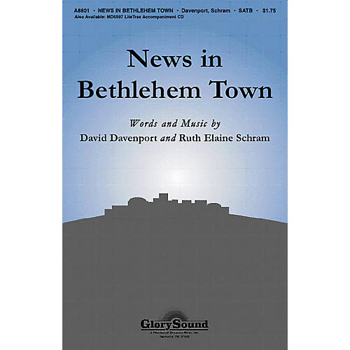 Shawnee Press News in Bethlehem Town SATB composed by David Davenport
