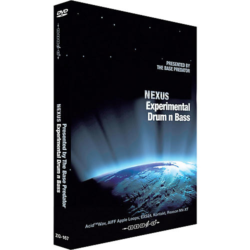 Zero G Nexus Experimenal Drum n Bass Sample Library