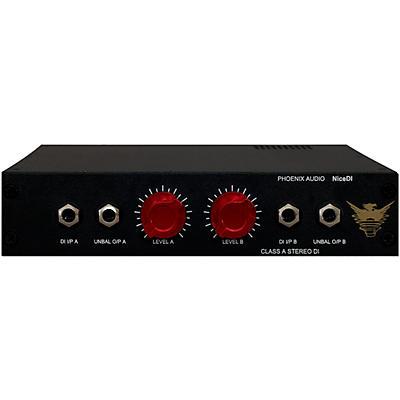 Phoenix Audio Nice DI - Stereo Class A Active DI