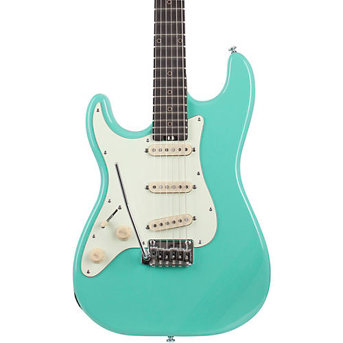 Schecter Guitar Research Nick Johnston Traditional Left-Handed Electric Guitar Atomic Green