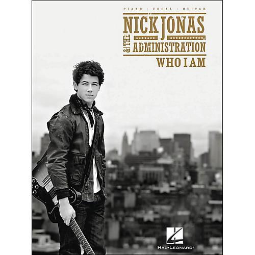 Hal Leonard Nick Jonas & The Administration - Who I Am PVG