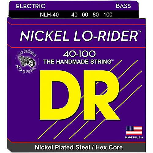 DR Strings Nickel Light Lo-Riders 4-String Bass Strings