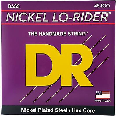 DR Strings Nickel Medium Light Lo-Riders 4-String Bass Strings