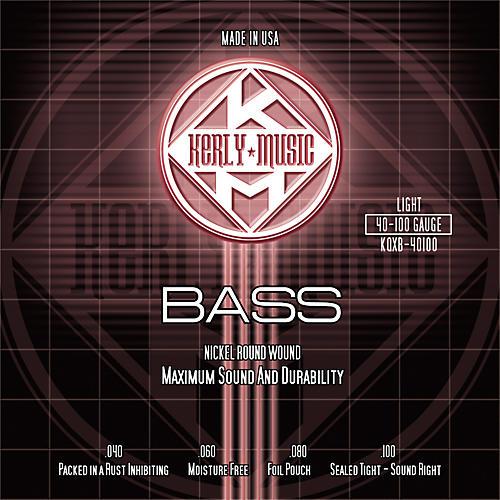 Kerly Music Nickel Plated Bass Strings Light