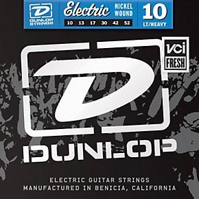 dunlop nickel plated steel electric guitar strings light top heavy bottom 10 39 s musician 39 s friend. Black Bedroom Furniture Sets. Home Design Ideas
